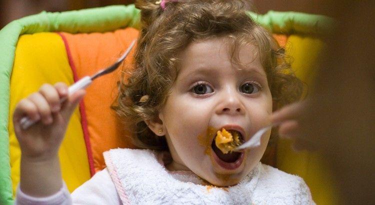 la comida del bebe de 9 meses