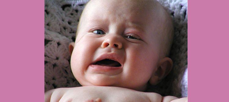 motivos por los que un bebé no para de llorar