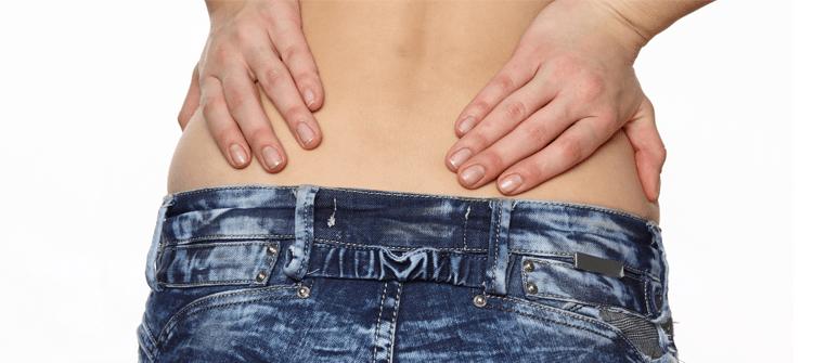 Combatir el dolor de espalda en el embarazo