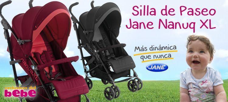 la más vendida de Jané, silla de paseo nanuq xl