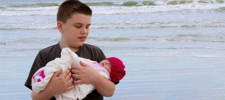 Los cuidados del bebé en la playa