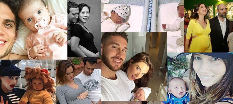 Los beb s famosos de 2015 for Chismes delos famosos 2016