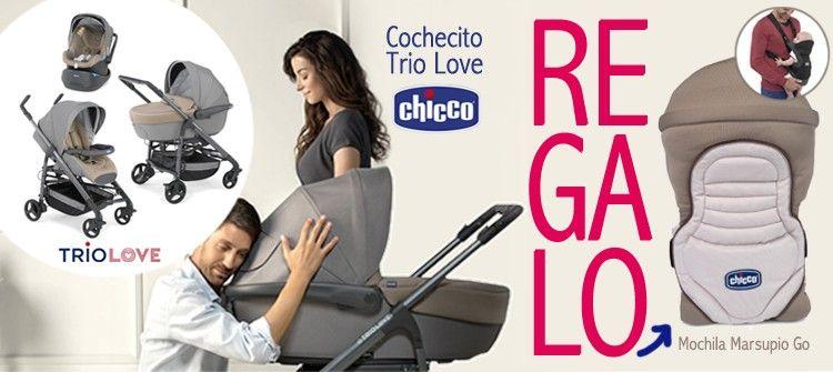 comprar carrito bebé trío love chicco 2016