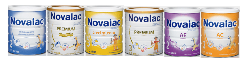 imagen leche de fórmula Novalac crecimiento