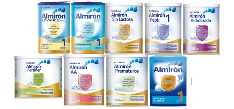 imagen leche de fórmula almirón