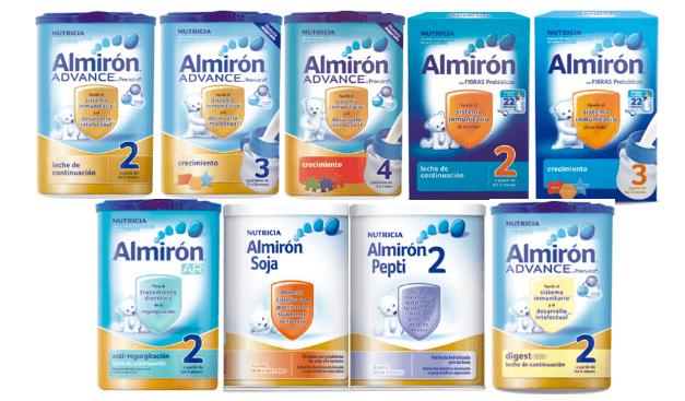 imagen leche de fórmula crecimiento almirón