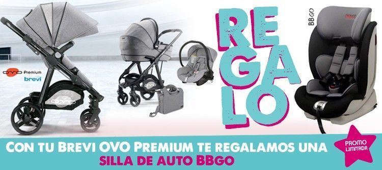 oferta carrito para bebé brevi ovo