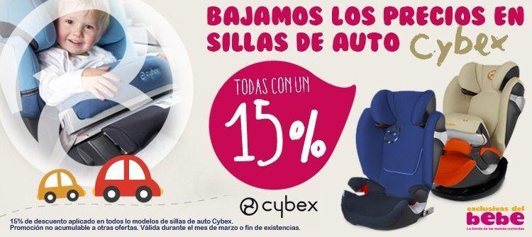 imagen sillas de coche cibex promoción