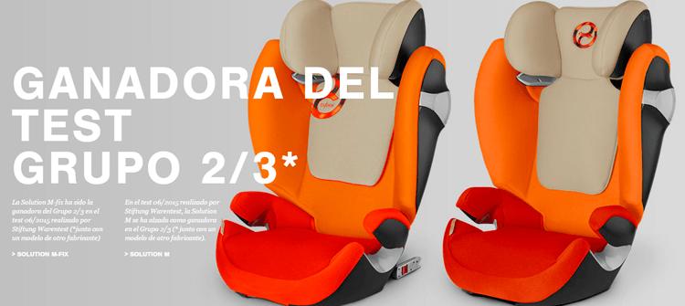 sillas de coche cybex premio
