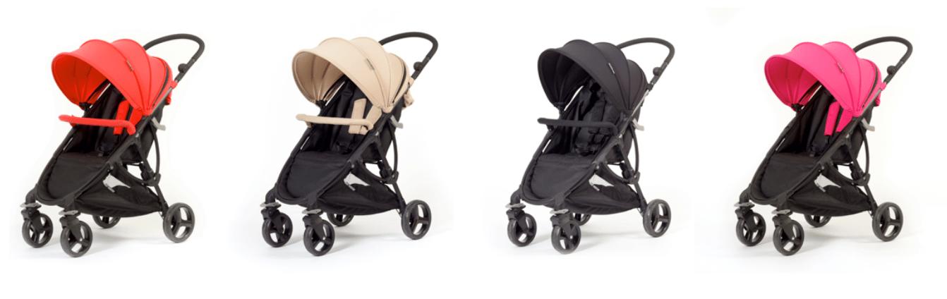 gama de color de la silla de paseo baby monster compact