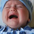 imagen bebé llorando