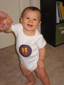 crecimiento de bebe 11 meses